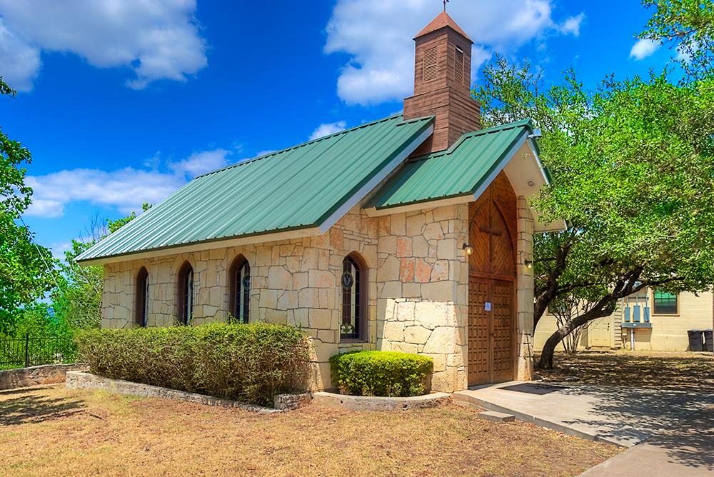 Exterior of chapel